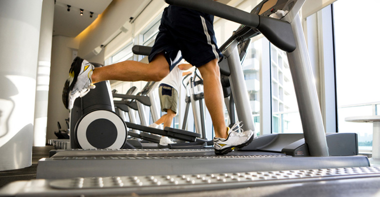 Work Off Calories at The Kensington Inneractive
