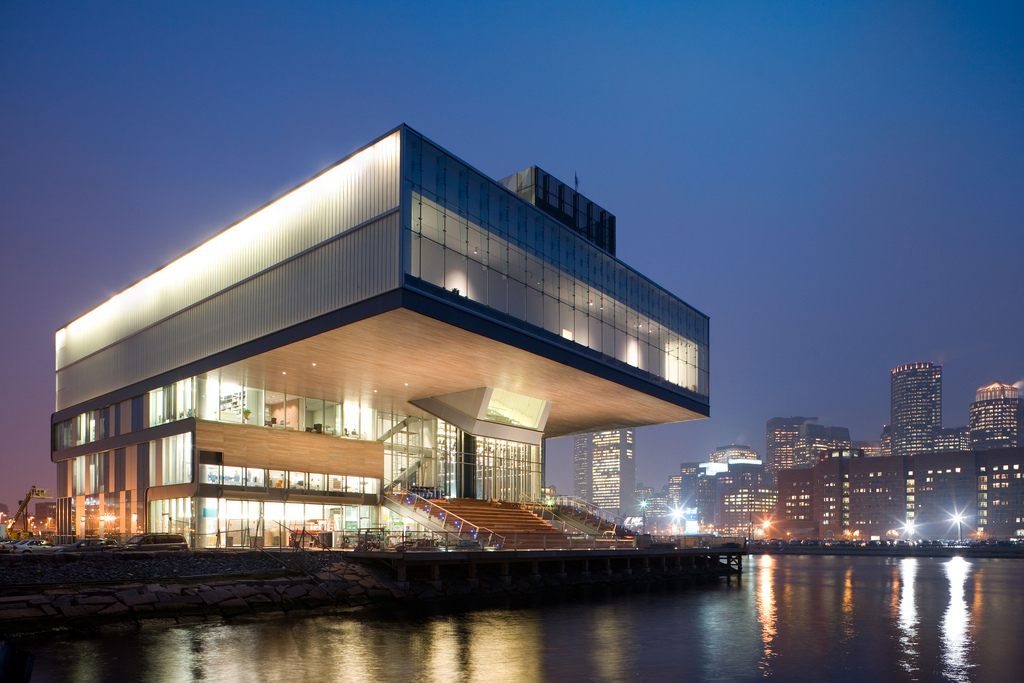 The Kensington Goes Out: Boston's Institute of Contemporary Art