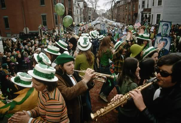 Saint Patrick's Day: Downtown