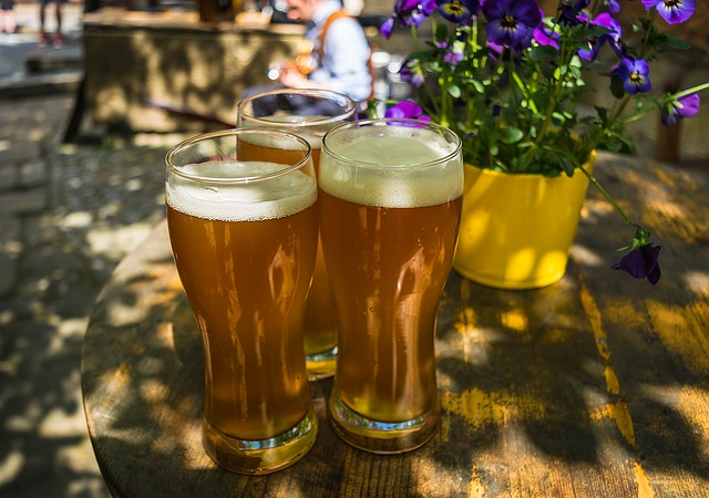 Celebrate the summer at the trillium beer garden
